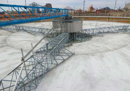Primary clarifier rebuild